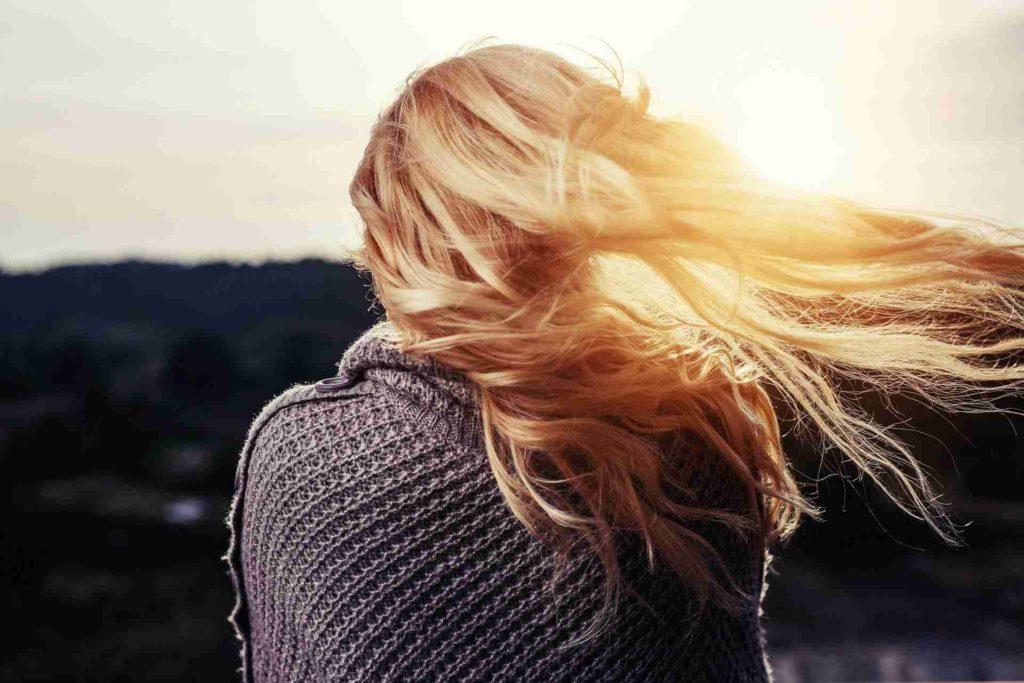 cheveux légers