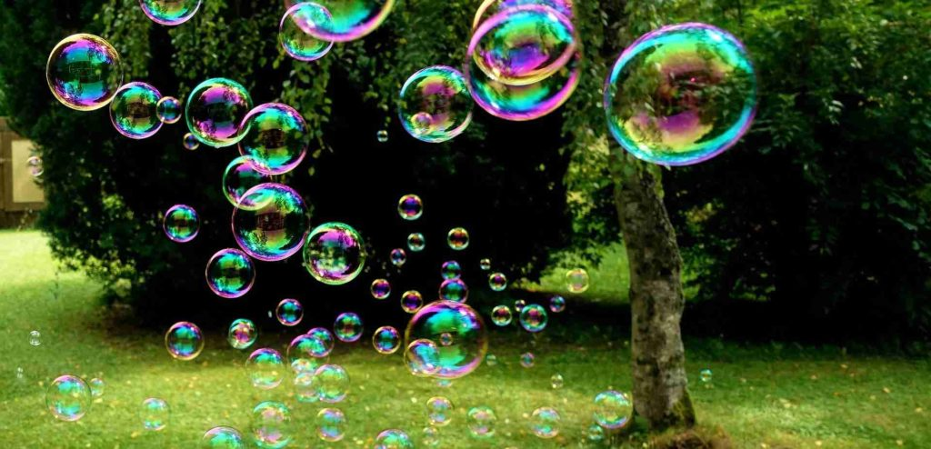 bulles de shampoing