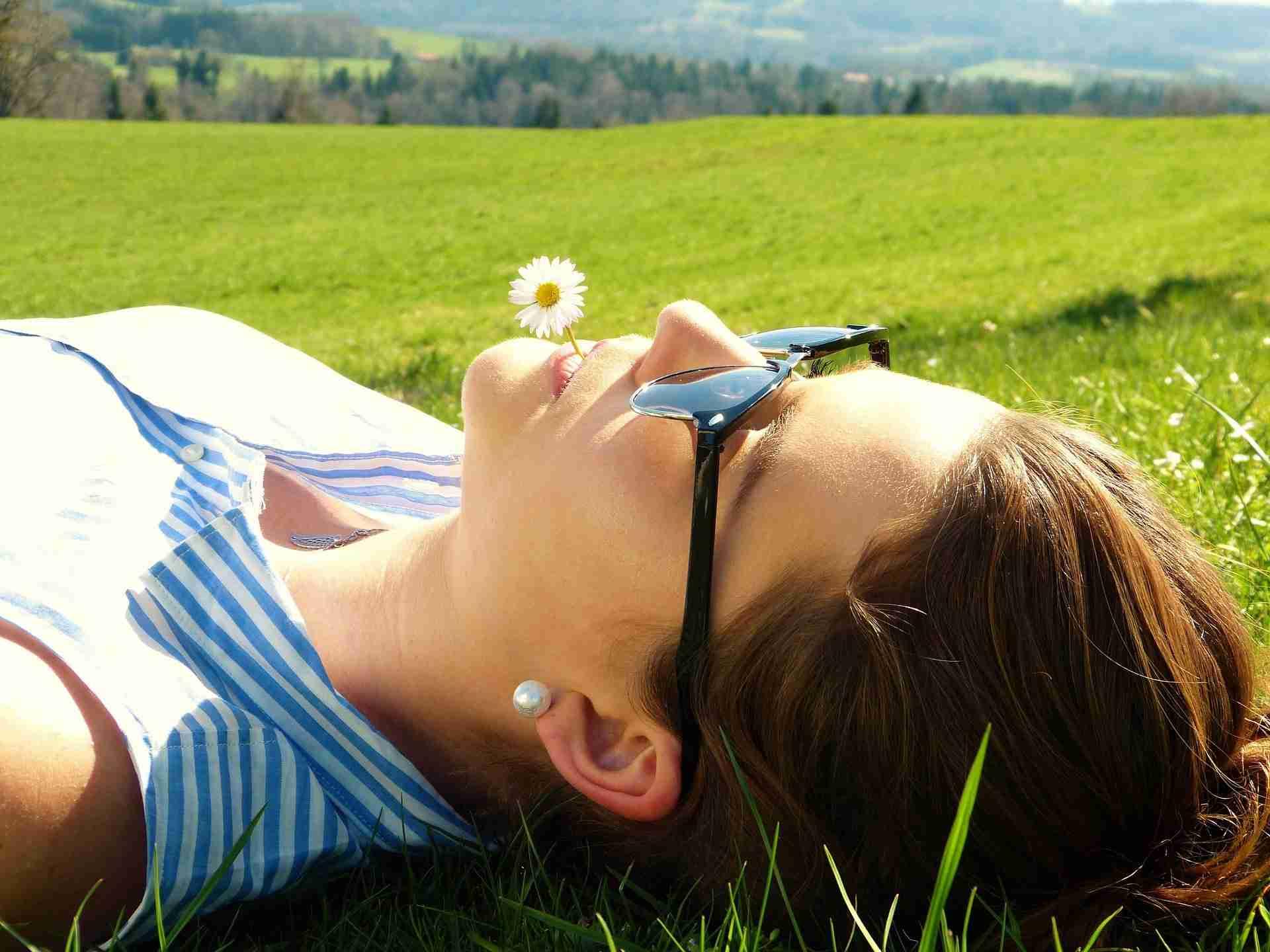 se détendre au soleil